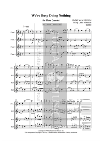401-busy-doing-nothing-for-flute-quartet-watermarked-score