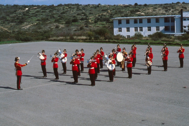 Fanfare team QLR 79 Cyprus - with JCR